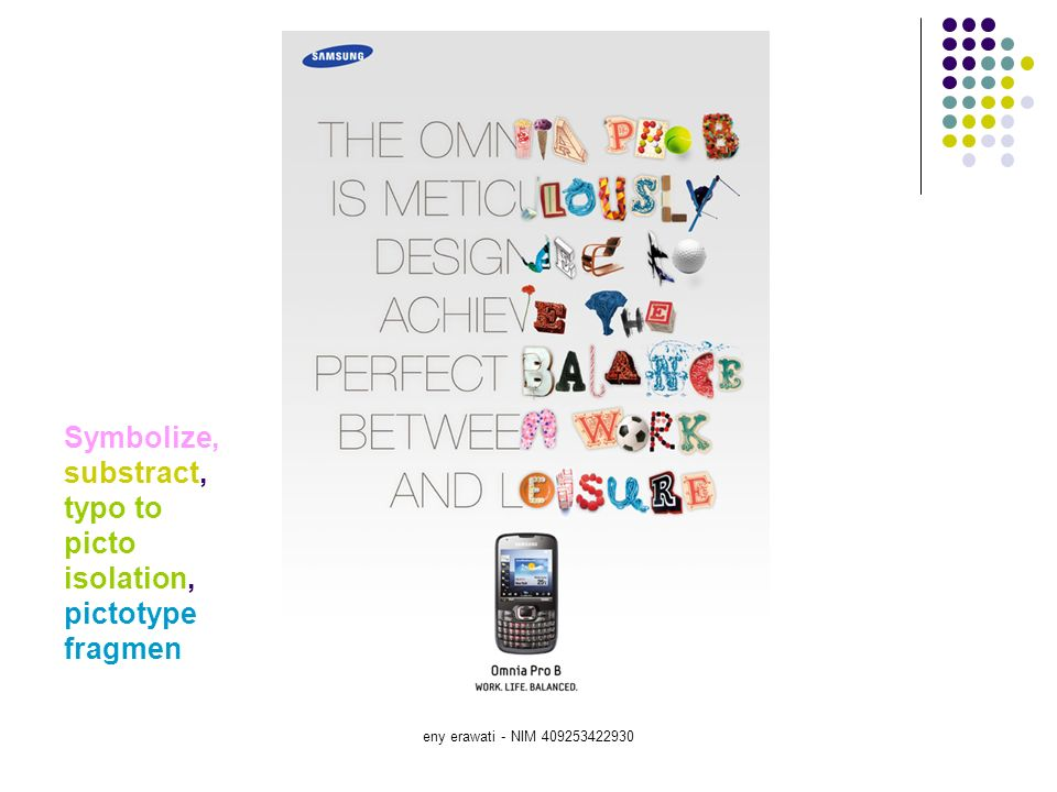 Symbolize, substract, typo to picto isolation, pictotype fragmen