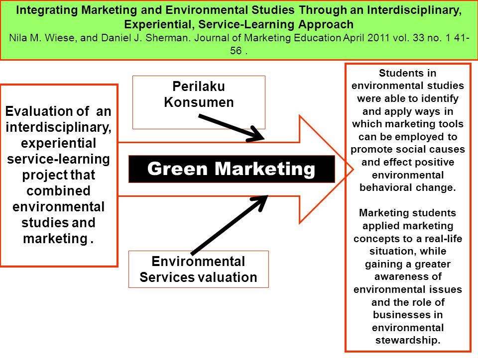 Environmental Services valuation