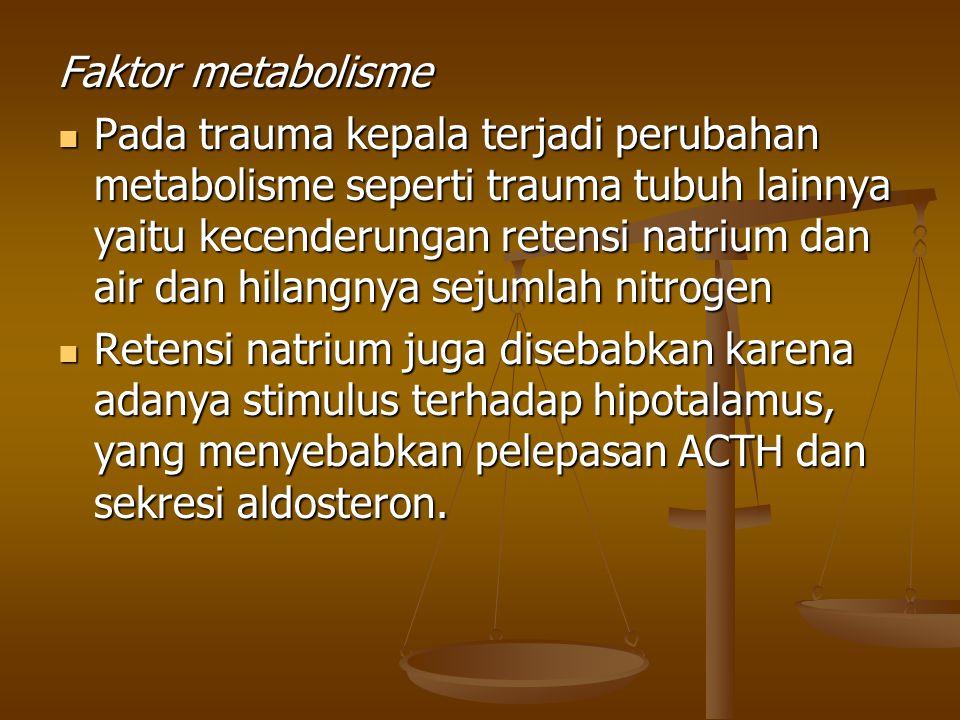 Faktor metabolisme