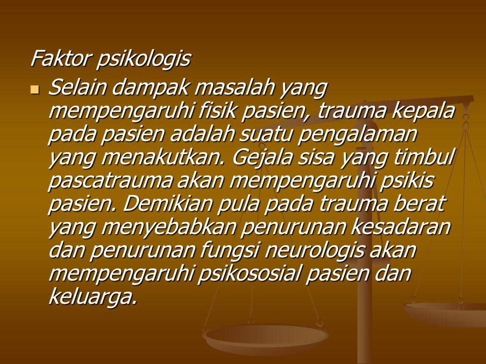 Faktor psikologis