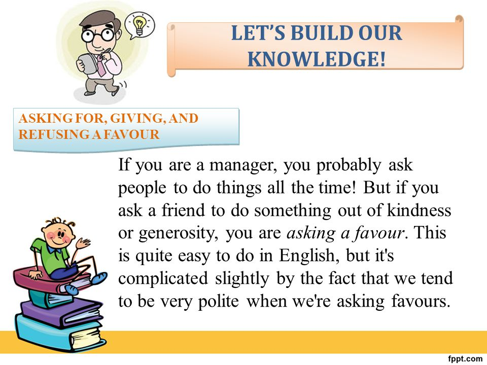 LET'S BUILD OUR KNOWLEDGE!