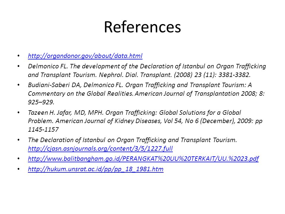 References http://organdonor.gov/about/data.html