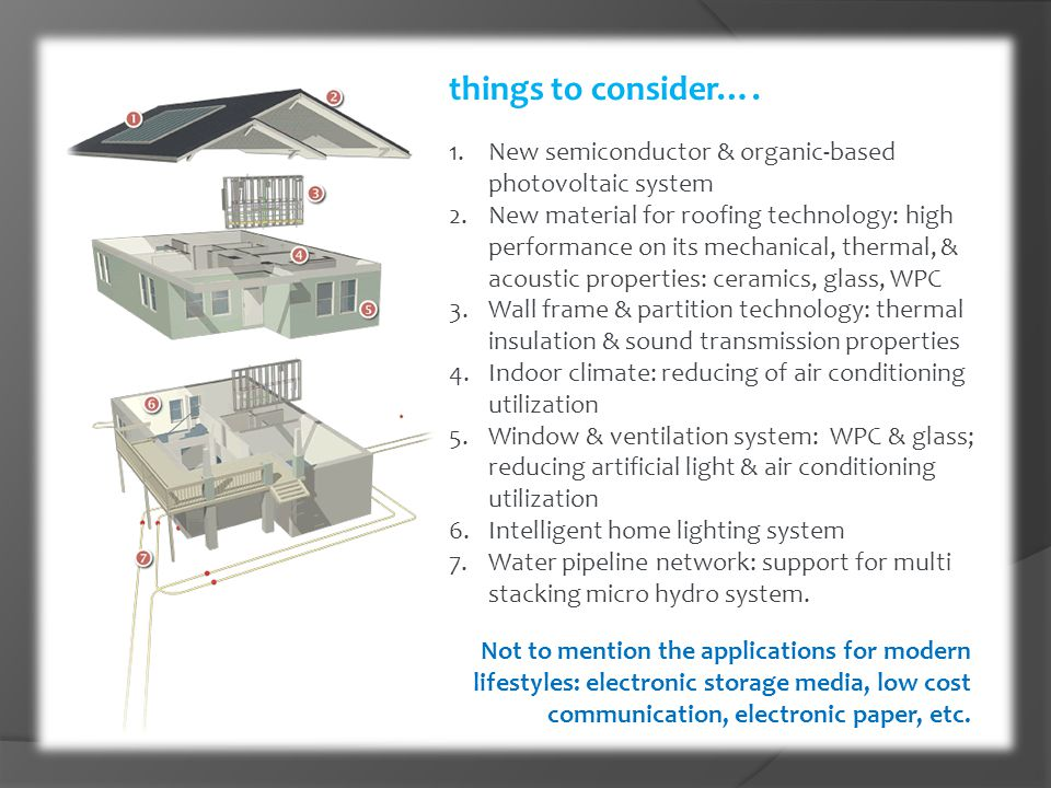 things to consider…. New semiconductor & organic-based photovoltaic system.