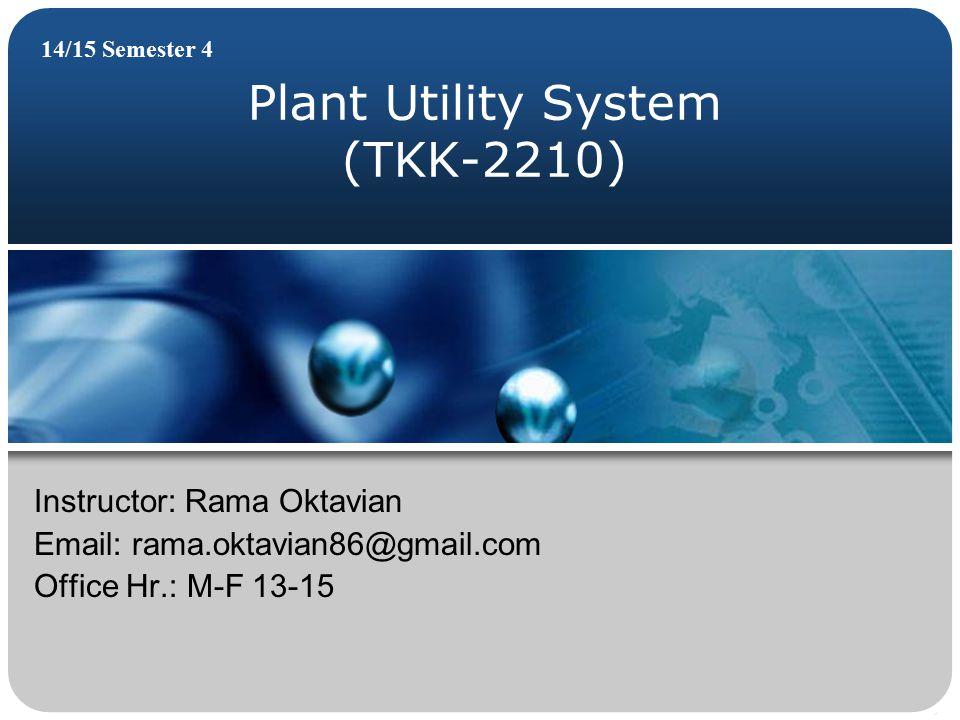 Plant Utility System (TKK-2210)