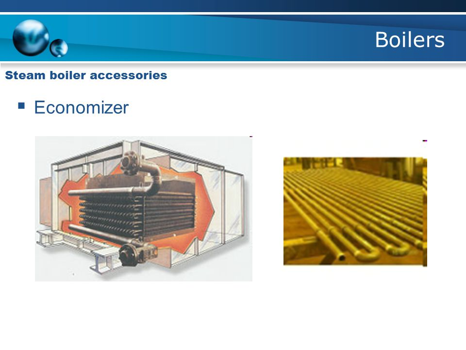 Boilers Steam boiler accessories Economizer