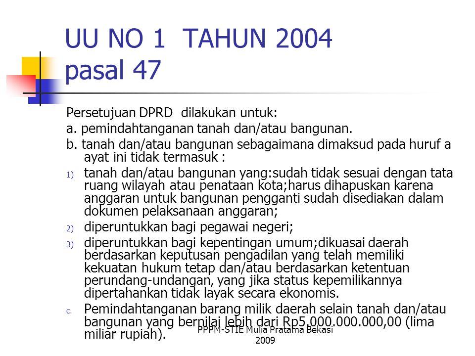 PPPM-STIE Mulia Pratama Bekasi 2009