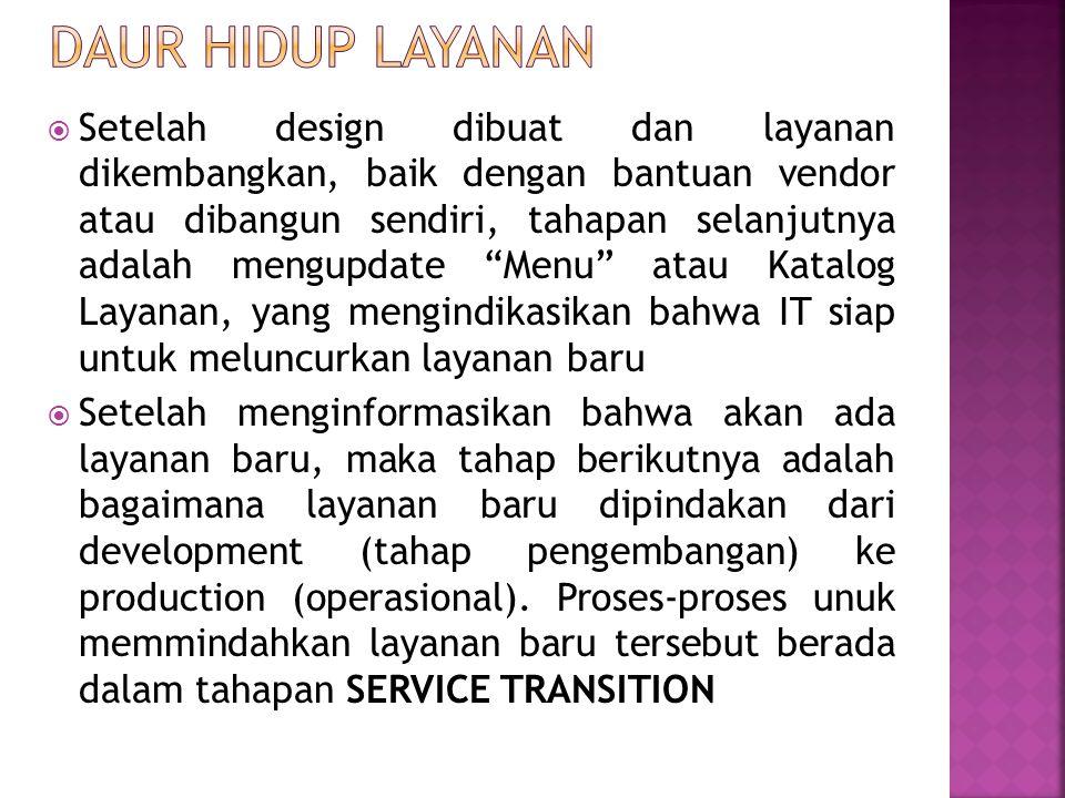 Daur hidup layanan
