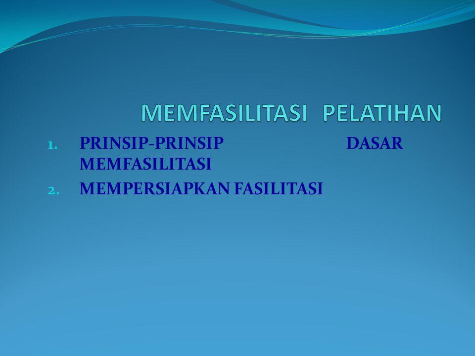 MEMFASILITASI PELATIHAN