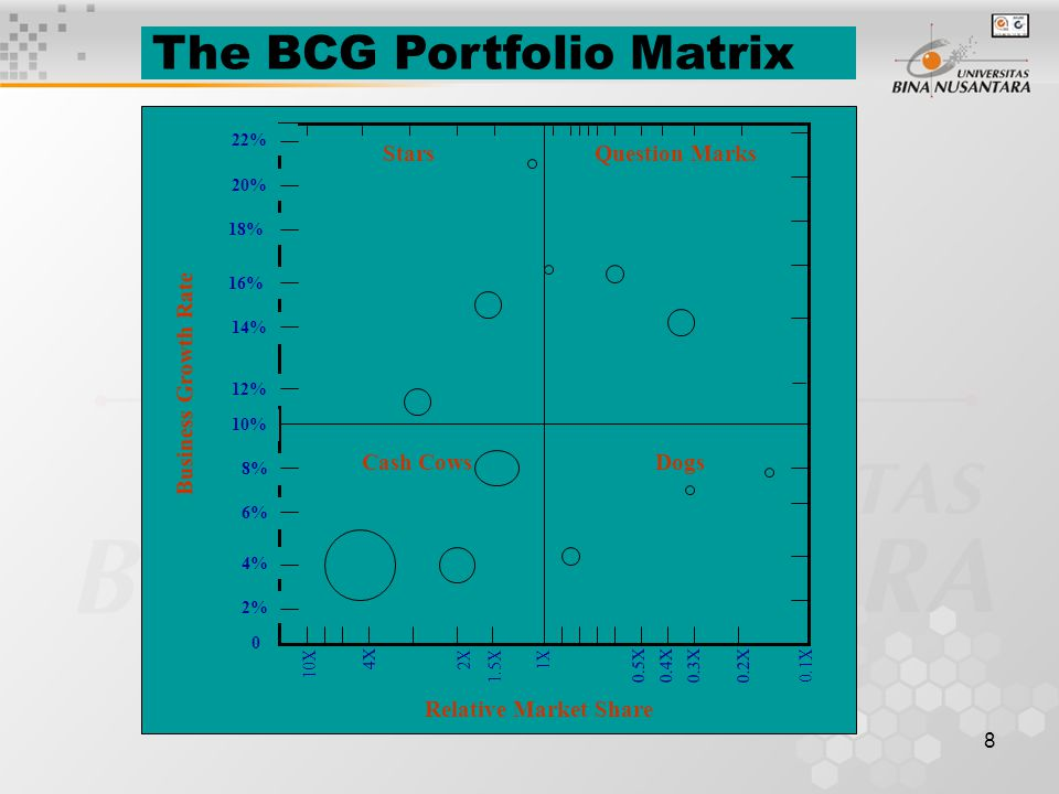 The BCG Portfolio Matrix