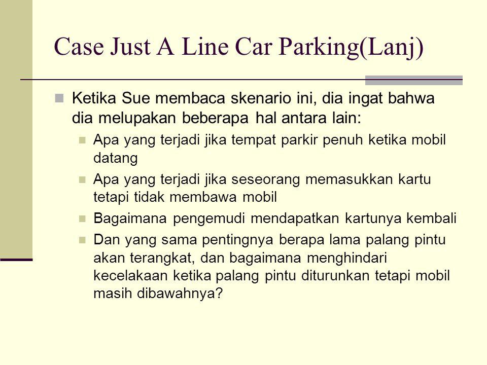 Case Just A Line Car Parking(Lanj)