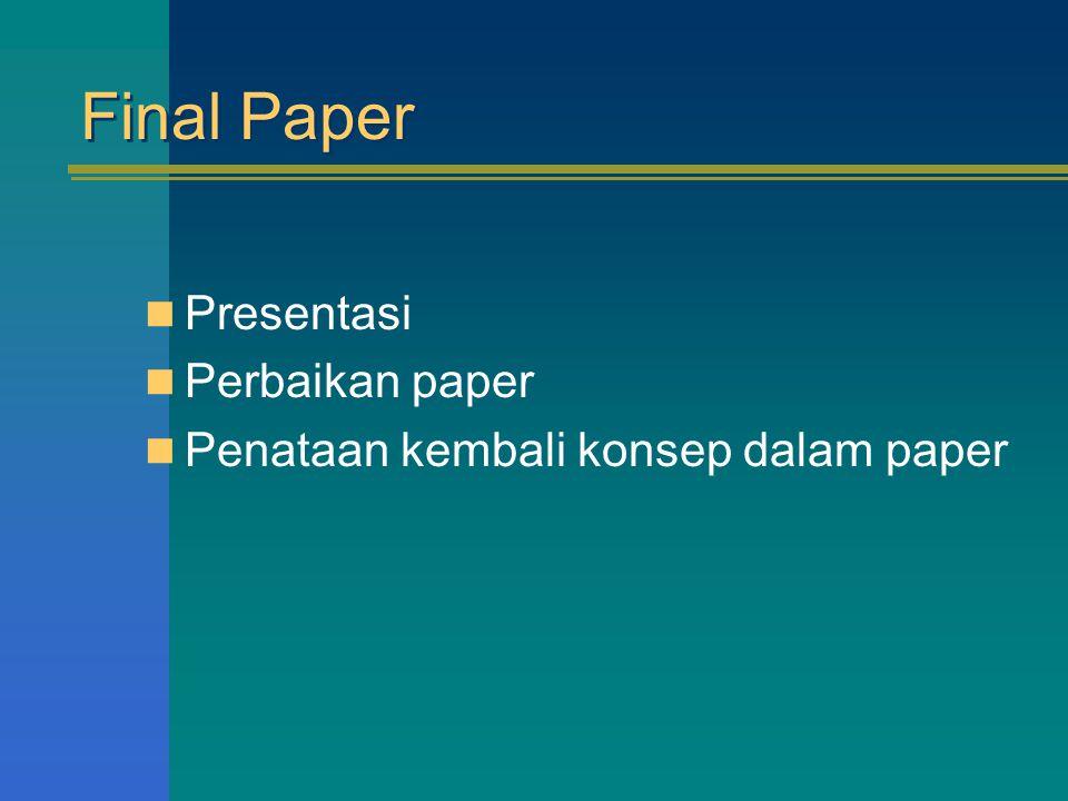 Final Paper Presentasi Perbaikan paper