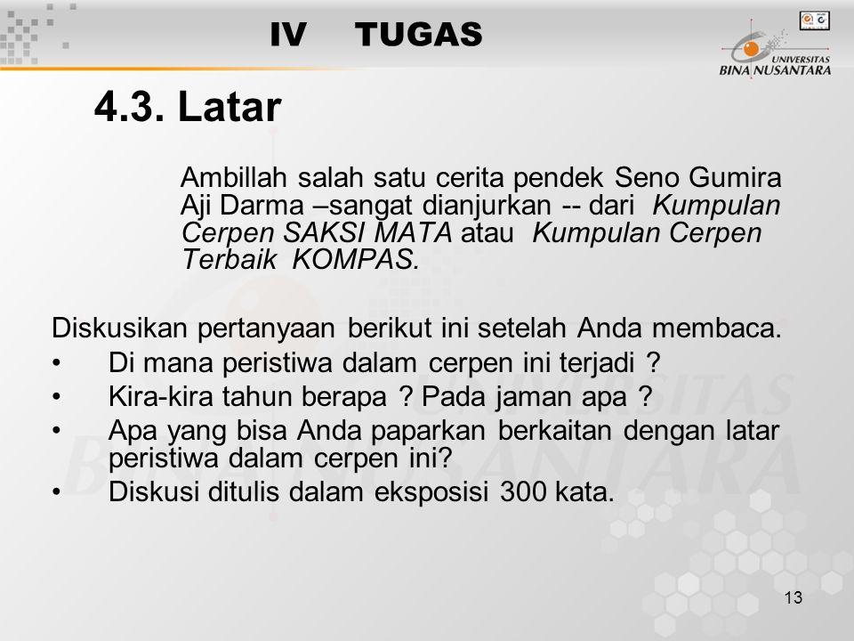IV TUGAS 4.3. Latar.
