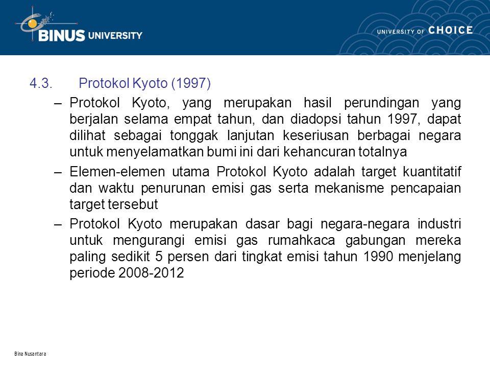4.3. Protokol Kyoto (1997)