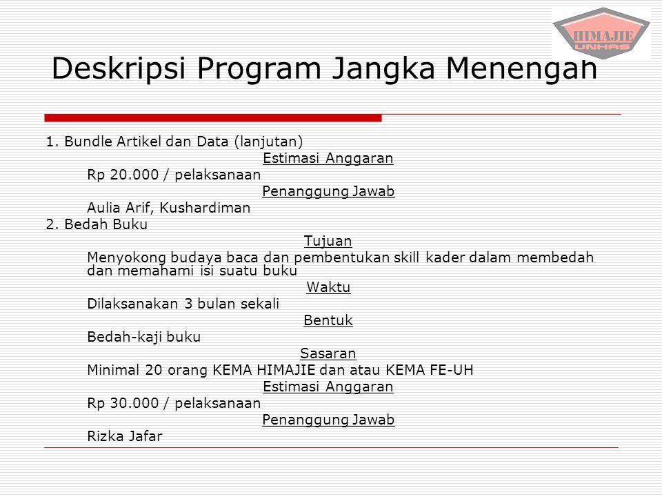 Deskripsi Program Jangka Menengah
