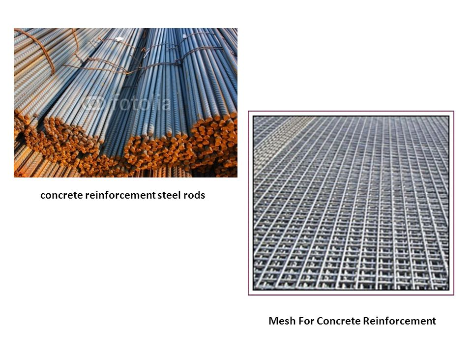 concrete reinforcement steel rods
