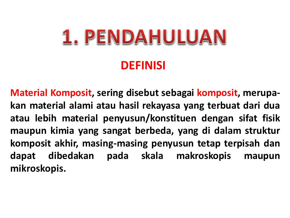1. PENDAHULUAN DEFINISI.