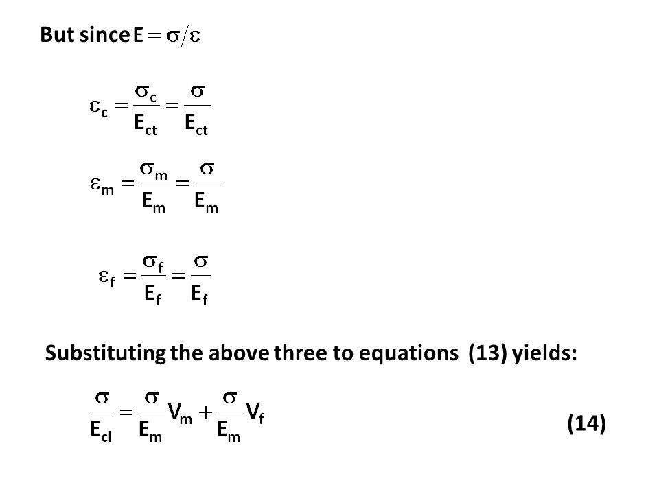 But since Substituting the above three to equations (13) yields: (14)