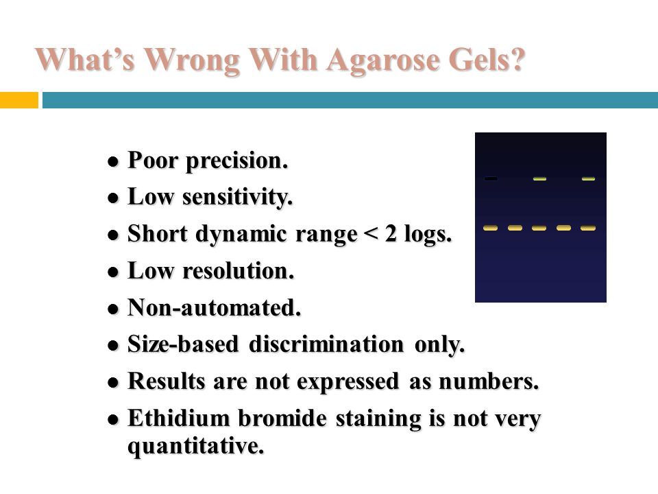 What's Wrong With Agarose Gels