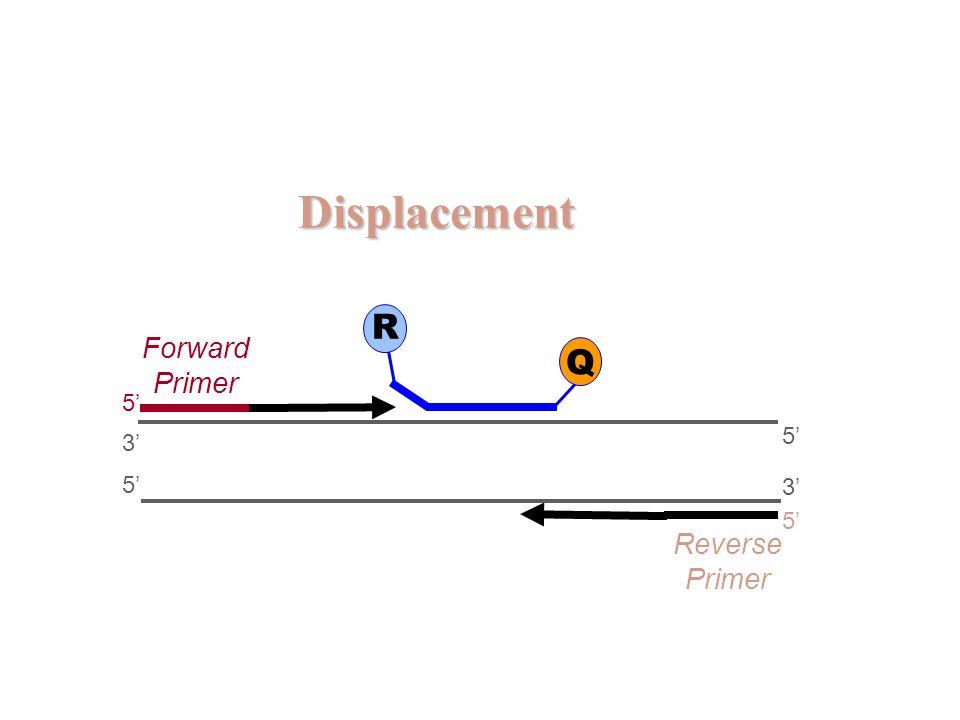 Displacement R Forward Primer Q 5' 5' 3' 5' 3' 5' Reverse Primer