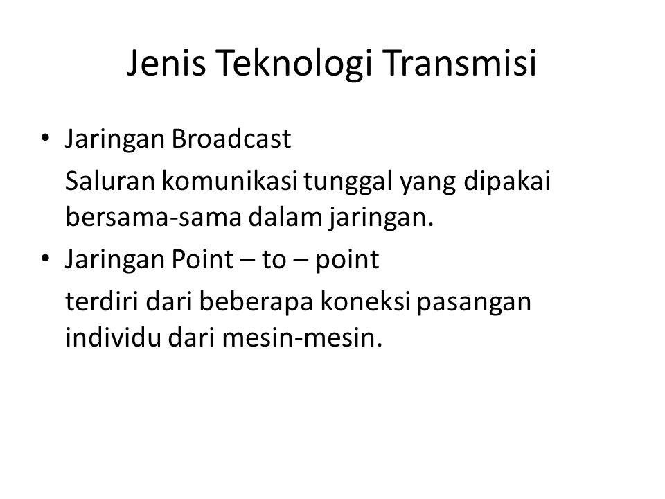 Jenis Teknologi Transmisi