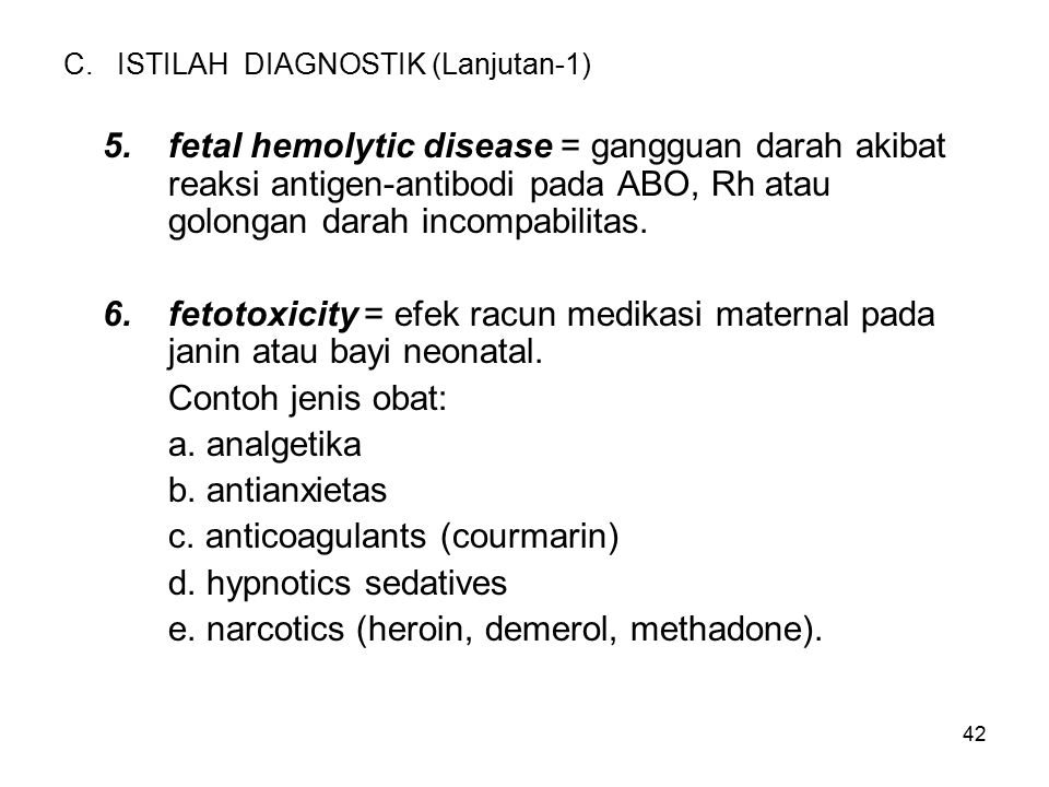 C. ISTILAH DIAGNOSTIK (Lanjutan-1)