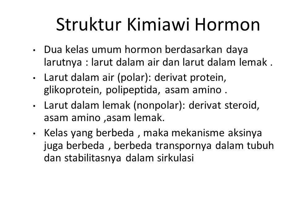 Struktur Kimiawi Hormon