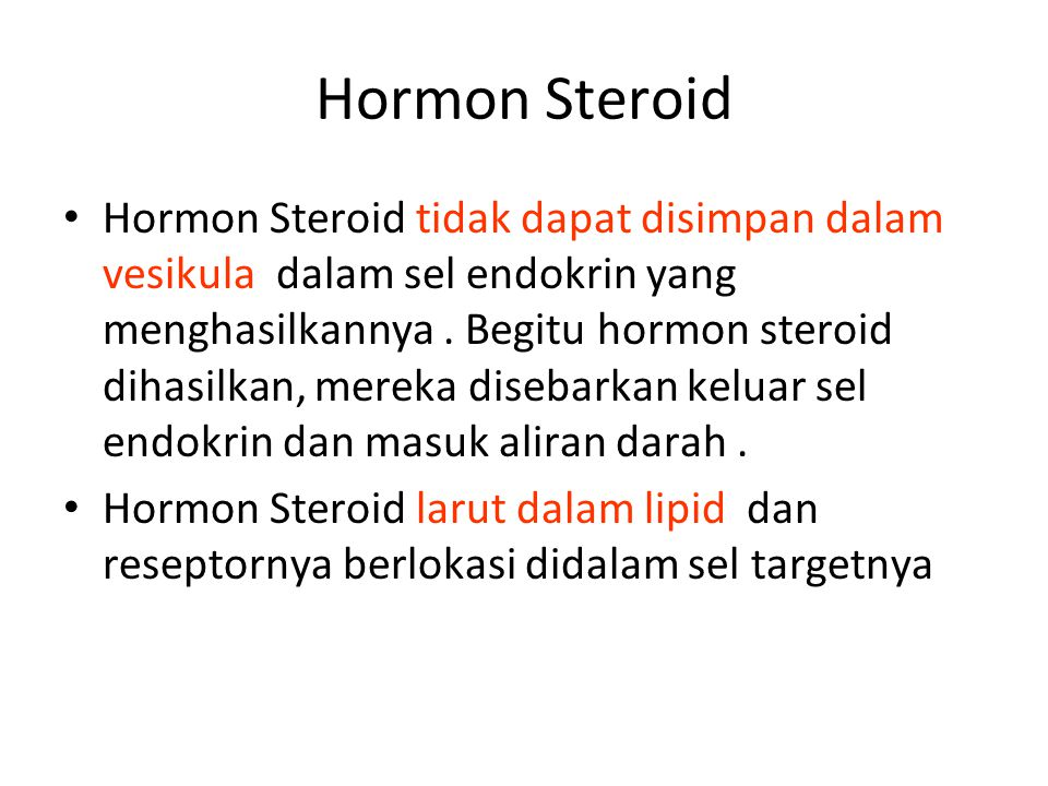 Hormon Steroid