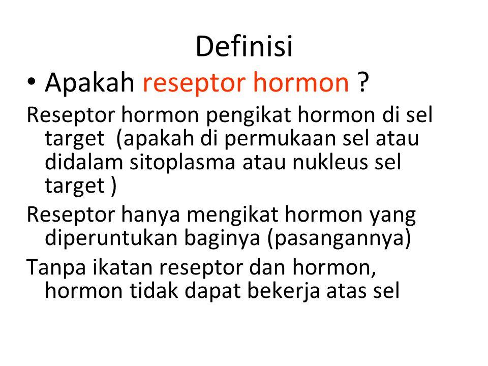 Definisi Apakah reseptor hormon