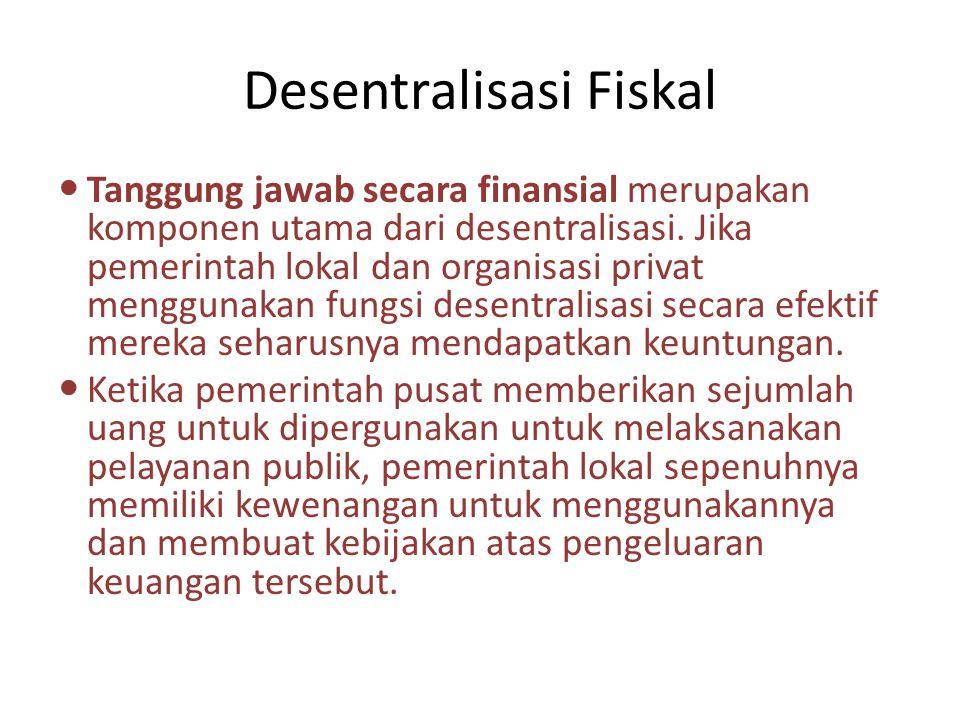 Desentralisasi Fiskal
