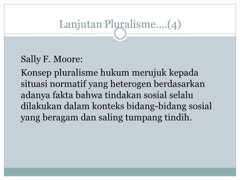 Lanjutan Pluralisme....(4)