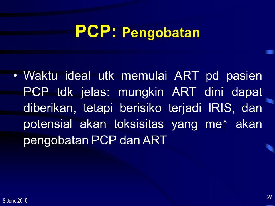 PCP: Pengobatan