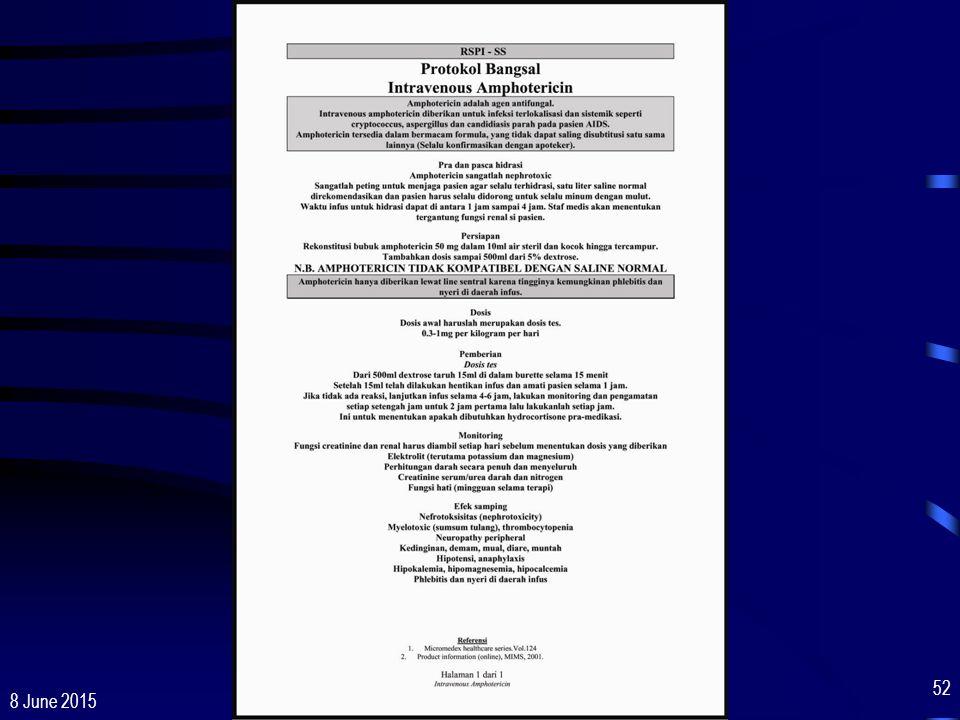 16 April 2017 Pelatihan Dasar Perawatan, Dukungan & Pengobatan ODHA Cisarua, 20 - 25 Juni 2005.