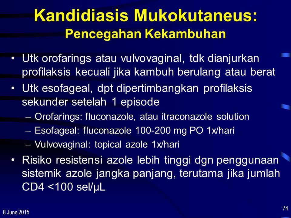 Kandidiasis Mukokutaneus: Pencegahan Kekambuhan