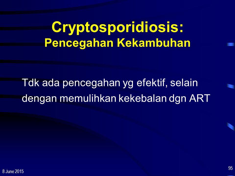 Cryptosporidiosis: Pencegahan Kekambuhan