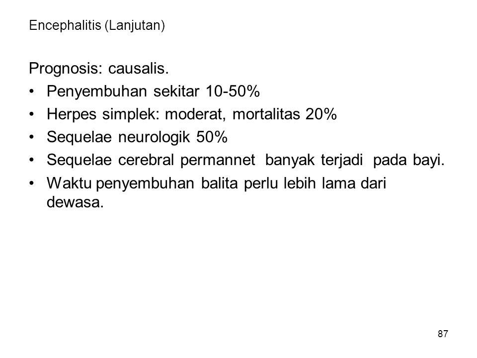Encephalitis (Lanjutan)