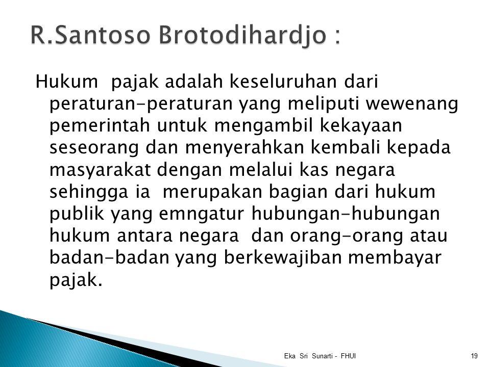 R.Santoso Brotodihardjo :