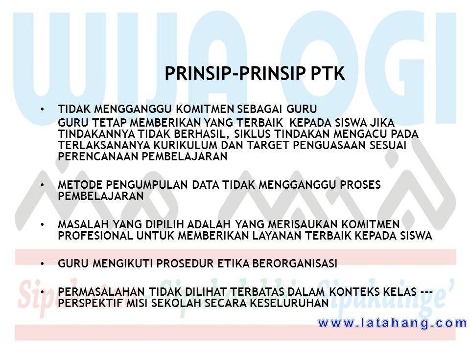 PRINSIP-PRINSIP PTK www.latahang.com