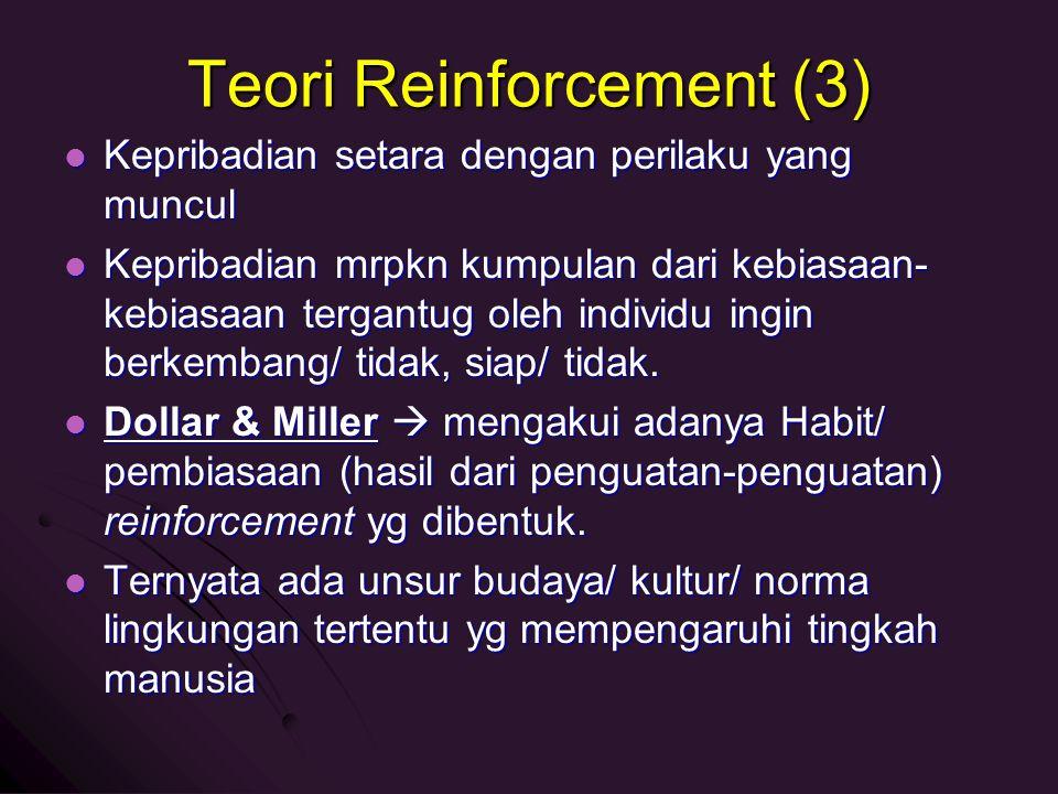 Teori Reinforcement (3)