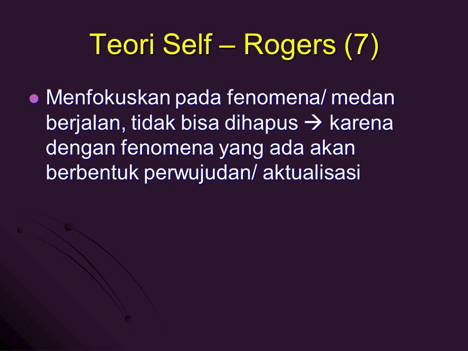Teori Self – Rogers (7)