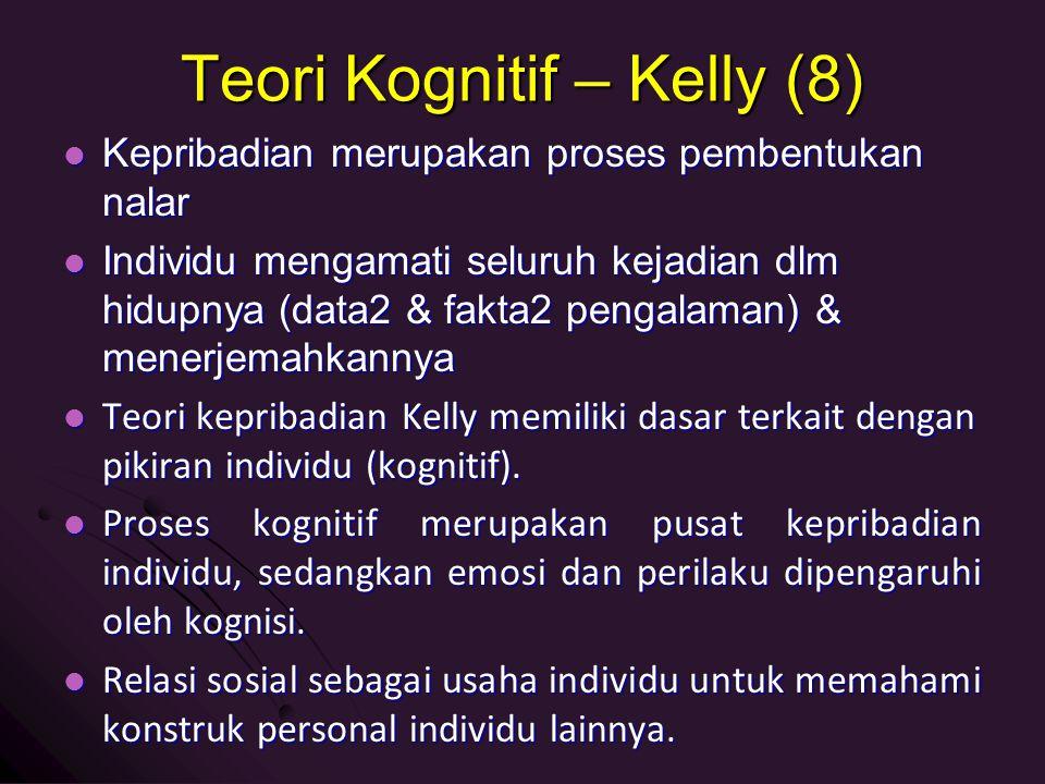 Teori Kognitif – Kelly (8)