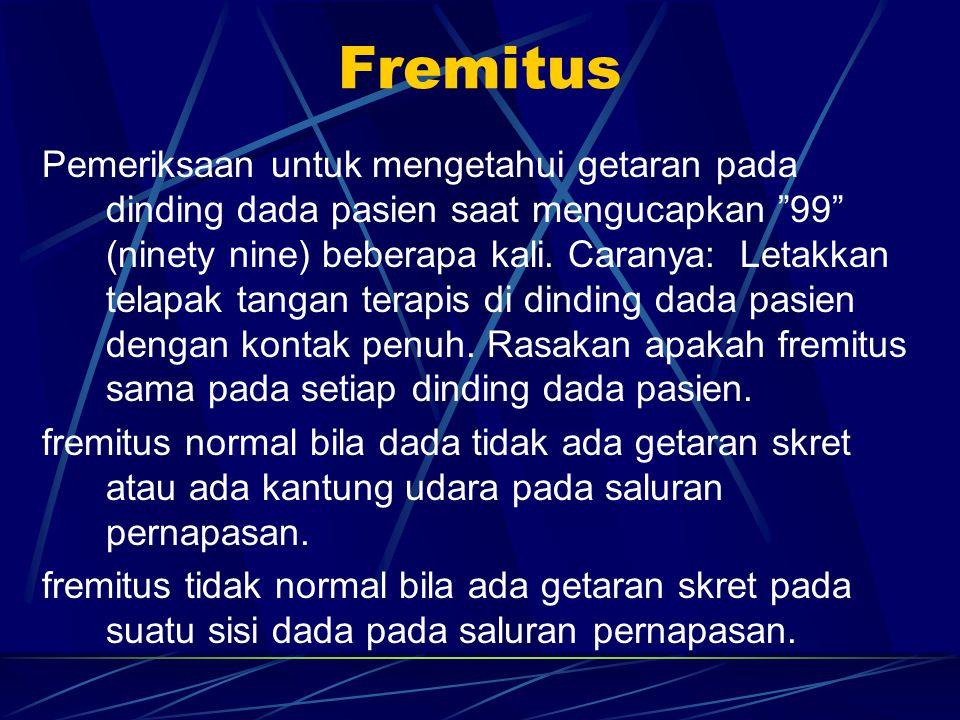 Fremitus