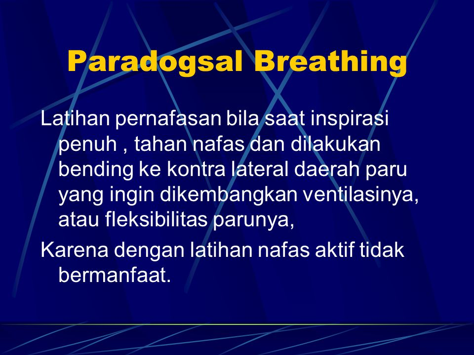 Paradogsal Breathing