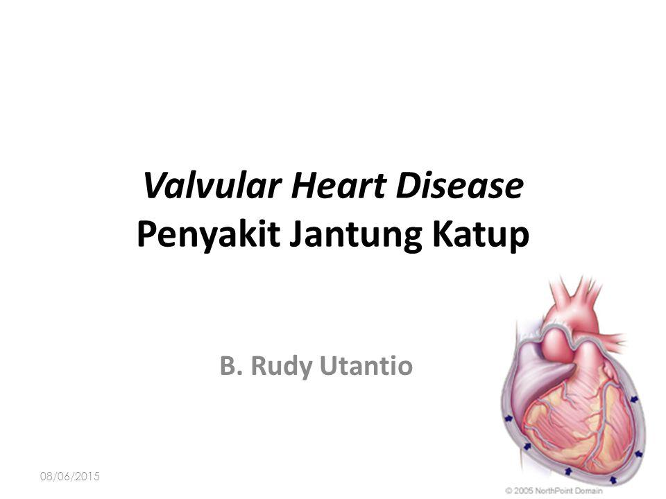 Valvular Heart Disease Penyakit Jantung Katup