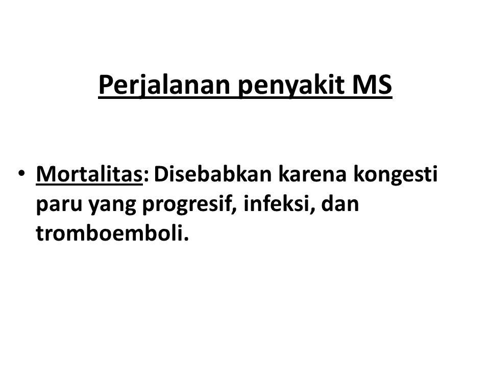 Perjalanan penyakit MS