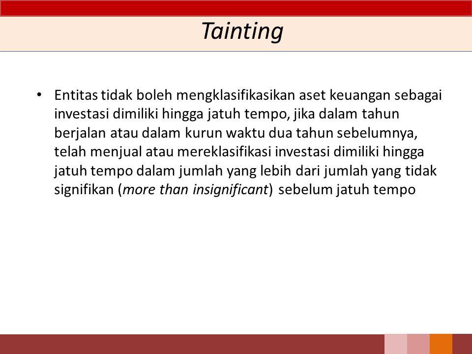 Tainting
