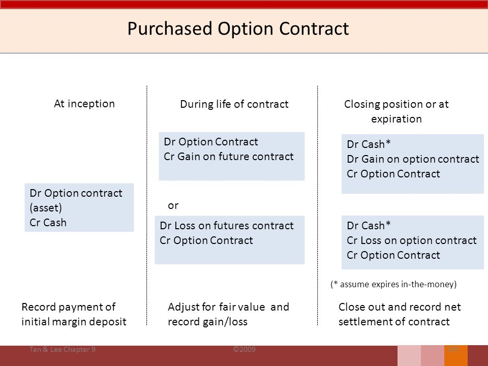 Purchased Option Contract