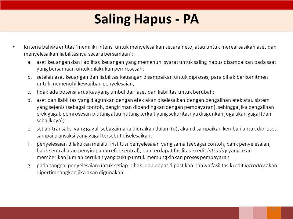 Saling Hapus - PA