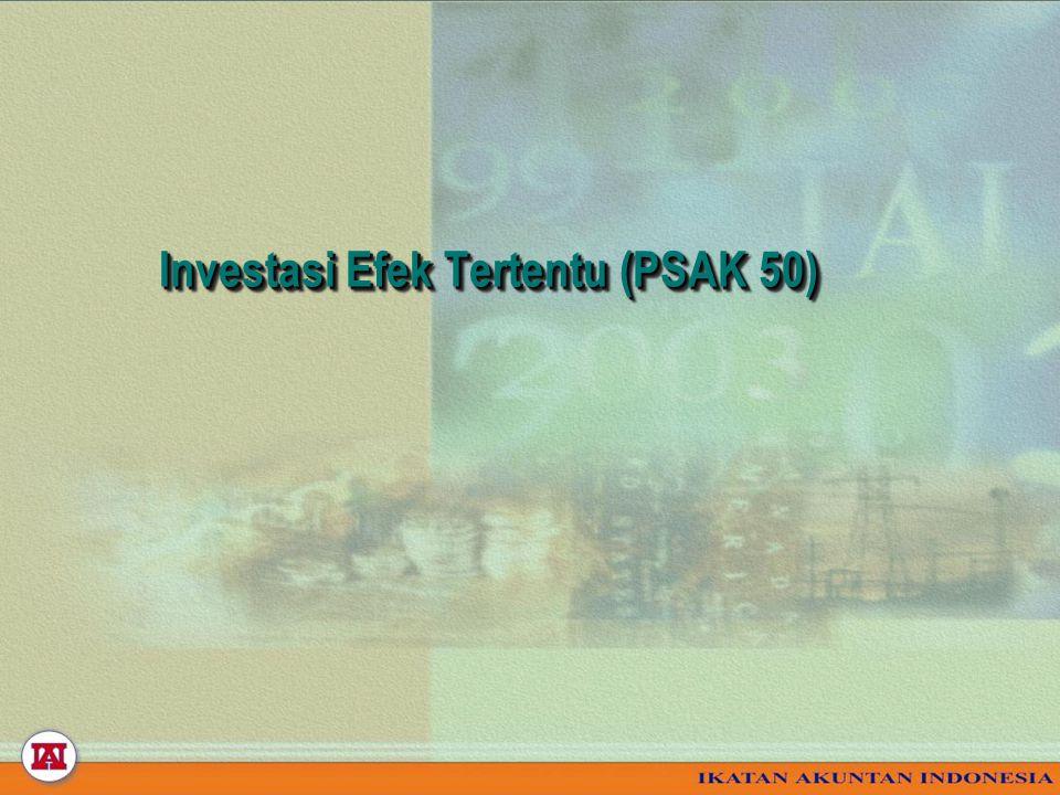 Investasi Efek Tertentu (PSAK 50)