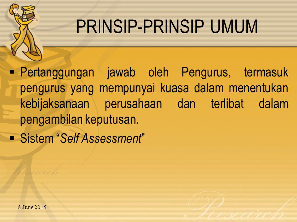 PRINSIP-PRINSIP UMUM