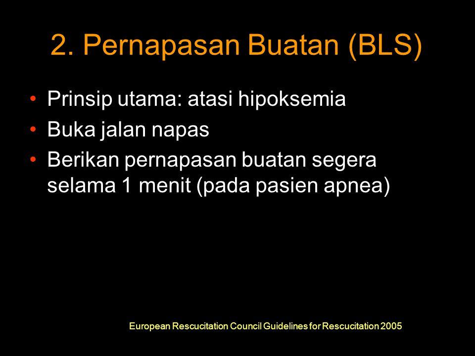 2. Pernapasan Buatan (BLS)